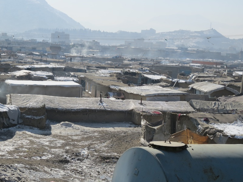Chaman-e Barbak refugee camp