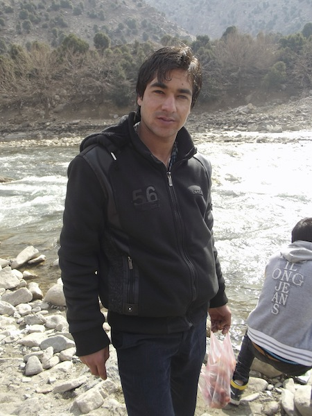 Raz Mohammed in the Panjshir