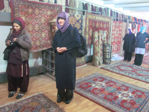 VCNV with Afghan Action Carpets
