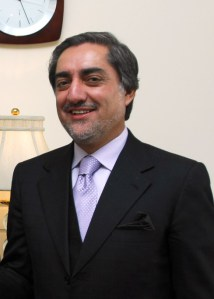 Abdullah Abdullah in October 2009