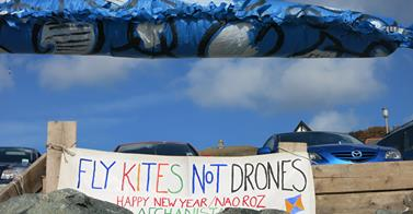 Fly Kites, Not Drones - St Michaels Mount