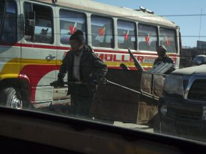 Taken from a Kabul taxi