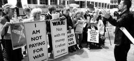 Divest from War, Invest in People