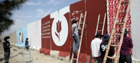 Afghan Artists Paint Tulips Murals To Honor War Victims